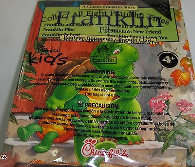 Chick-fil-A Kids Meal Toy Franklin TV Turtle Fibs Book Booklet 2012 MIP