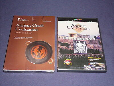 Teaching Co Great Courses DVDs       ANCIENT GREEK CIVILIZATION     new + BONUS