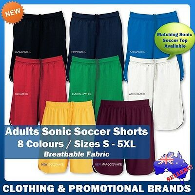 Mens Sonic Soccer Shorts Football Sports Adults Unisex Ladies Size S-5XL ST122M