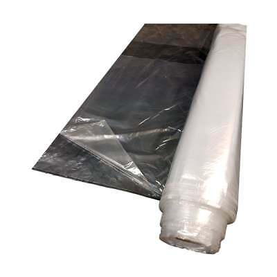 Decorating & DIY Polythene Sheeting 50mx4m Roll Dust/Water/Vapor Protection