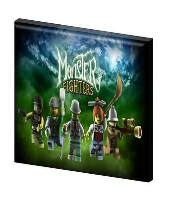 "LEGO MONSTER FIGHTERS  - CANVAS PICTURE 10"" x 10"" - ONLY  £7.99 Design B"