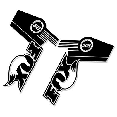 Fox 32 Style Suspension Fork Decal/Stickers   Replacement   Racing   Ride