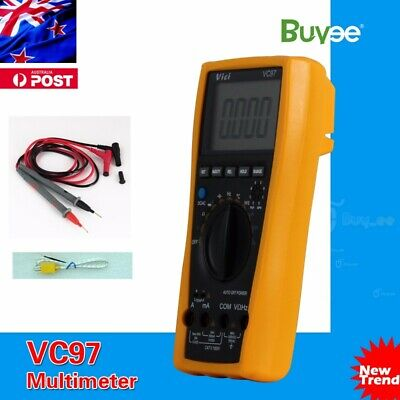 AU VC97 3999 Auto range multimeter All Function Include Carry Bag
