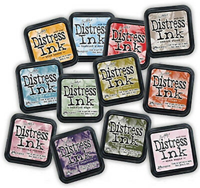 Tim Holtz Distress Ink Pads Full Size - REDUCED TO CLEAR