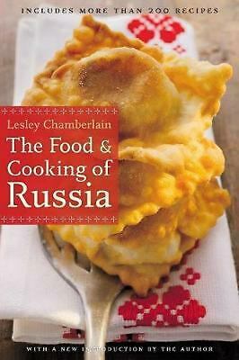 NEW The Food and Cooking of Russia by Lesley Chamberlain Paperback Book (English