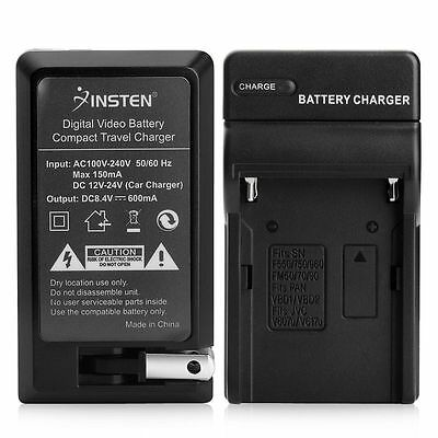 Battery Charger for SONY CyberShot D Series DSC-D700 Alpha A100 New