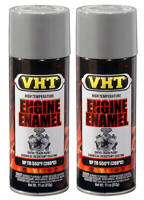 2 X Vht Sp137 Ford Gray Engine Enamel Paint