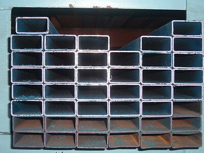 STEEL RHS RECTANGLE TUBE 50mm X 25mm X 1.6mm X 8MTRS LONG