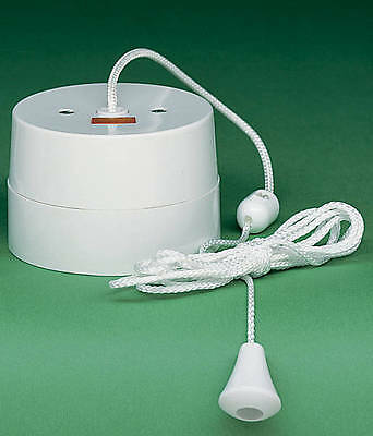 Crabtree 2163 16A Ceiling pull cord switch