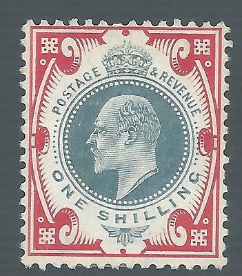 Great Britain 1902 Kevii 1/-