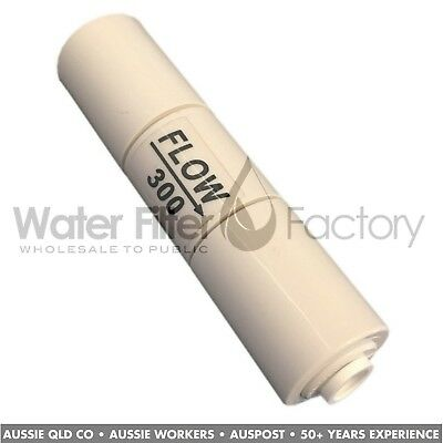 Reverse Osmosis Water Filters Quick-Fit FR300 Waste Line Flow Restrictor