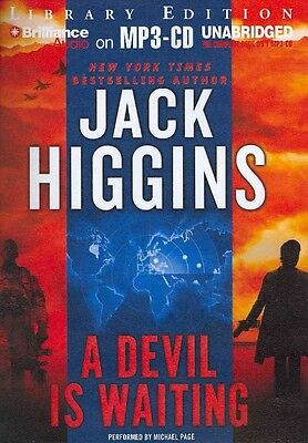 NEW A Devil Is Waiting by Jack Higgins MP3 CD Book (English)