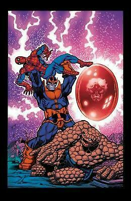 The Avengers vs. Thanos by Jim Starlin (English) Paperback Book Free Shipping!