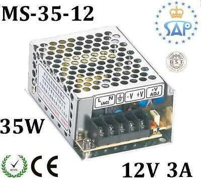 MS3512 12V 3A 35W Switching Power Supply Transformer NEW