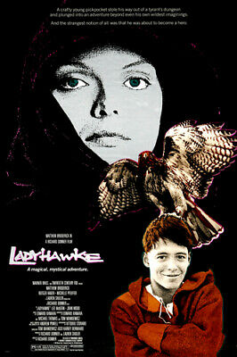 LADYHAWKE movie poster michelle PFEIFFER matthew BRODERICK mystical 24X36