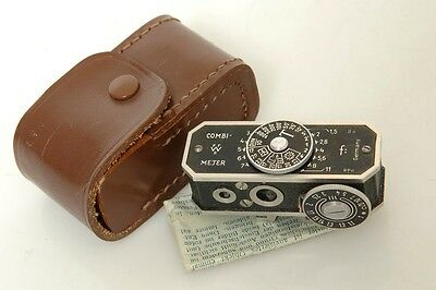 Combi Meter Rangefinder In Meter.4 Leica,voigtlander, Zeiss. Needs To Be Aligned