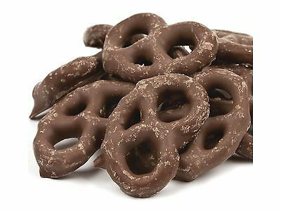 SweetGourmet Mini Milk Chocolate Covered Pretzels - 4Lb FREE SHIPPING!