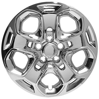 """NEW 2010 2011 2012 Ford FUSION Hubcap Wheelcover CHROME 17"""" Bolt-On"""