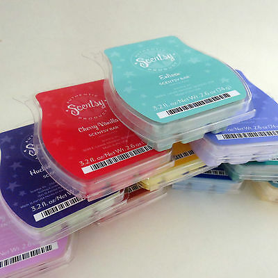 Scentsy Wax Bars- You pick scent - Some Hard to find