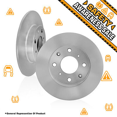 2 Front Premium 260 mm 4 Lug OE Quality Replacement Brake Disc Rotors ACCORD CL
