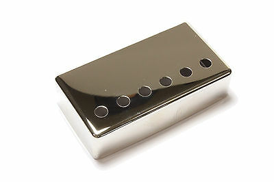 Humbucker Pickup cover Nickel plated nickel silver 52mm pole spacing