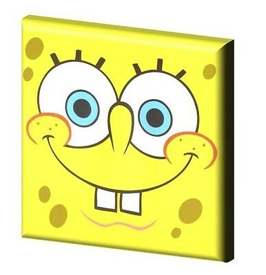 "SPONGEBOB SQUAREPANTS - CANVAS PICTURE 10"" x 10"" - ONLY  £7.99 Design A"