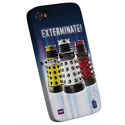 Doctor Who Dalek - Exterminate  I-Phone 4 4S Snap Case Brand New Great Gift