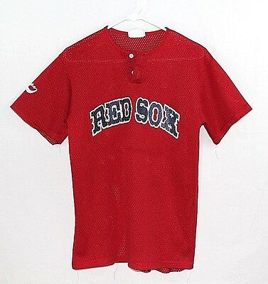 Boston Red Sox *Youth Size X-Large* #2 Lopez Baseball Polyester Jersey Pre-Owned