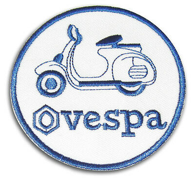 Ecusson Patch Vespa ACMA PX Piaggio Scooterist MODS Scooter Ska Modernist WHO