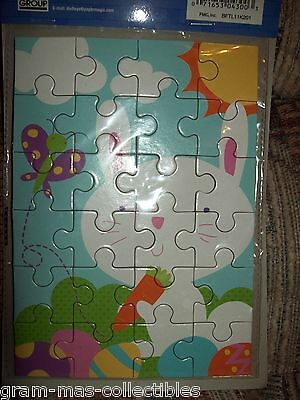 Four In One Puzzle  For Easter Bunny- Lamb- Frog -And Chicks By Dudley