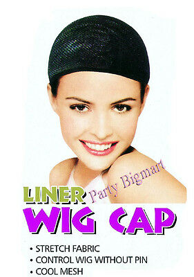 New Black Fish Net Hair Wig Cap Elastic Great Quality-Au Stock