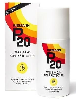 Riemann P20 SPF 15 200ml Once A Day Sun Protection Spray