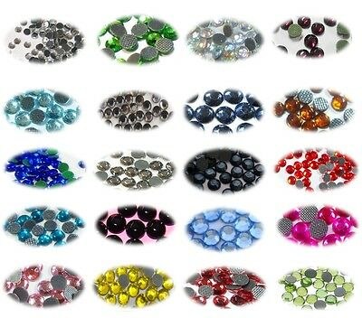 200 Strass Thermocollant 5mm (ss20) Couleur au Choix