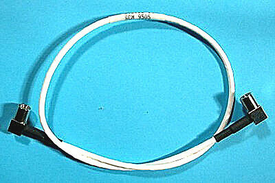 "SMB/SMB COAX CABLE 75-Ohm 16"" - 2 x SMB(Rt-Plug) - *UNUSED* Qty:5"