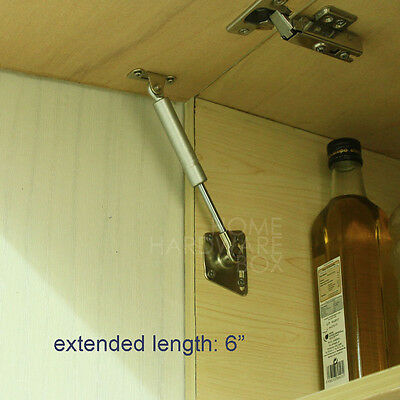 """kitchen cabinet door lift pneumatic support hydraulic gas spring stay 6"""""""