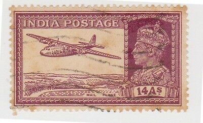 Stamp(I122) 1940 INDIA 14a purple GV AIR ow277