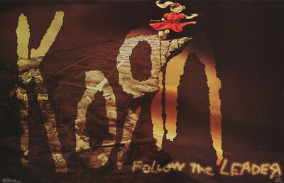 Poster : Music : Korn - Follow The Leader   - Free Shipping ! #6183     Rc51 K