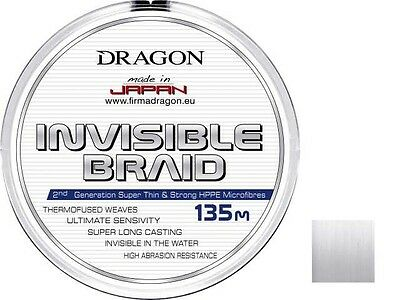 Dragon / Toray Invisible Braid line / clear / 135m / 0,06 - 0,25mm