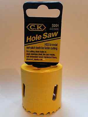 Ck 44Mm Hss Bi-Metal Holesaw T3201 Ceka C.k Tools