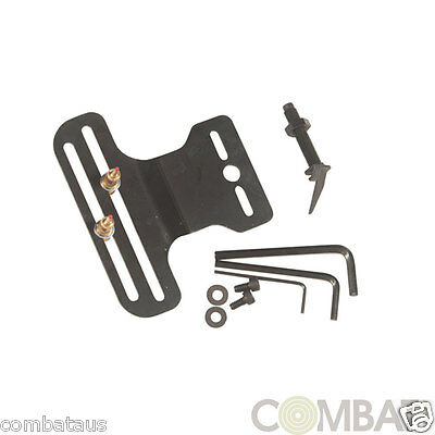 New 2 pin metal aiming device sight & leaf arrow rest for compound  recurve bows
