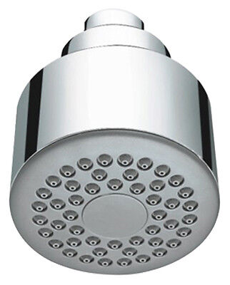Chrome Single Function Round Fixed Bathroom Shower Head For Low & High Pressure