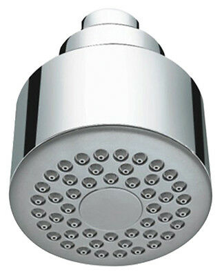 Chrome single function quality fixed shower head, suitable for low and high pres