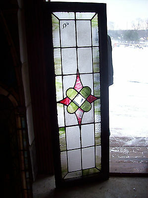 Textured glass w/ stained glass cluster BEVEL center (SG 1016)