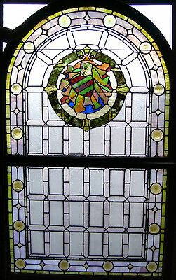 STAINED GLASS window_Over 6ft. tall  (#SG-101)