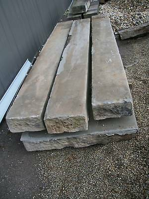 Antique Stone Steps Sandstone Step treads 10 feet long
