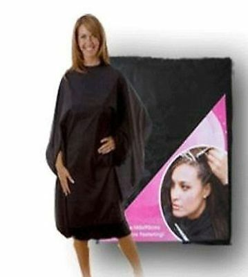 Pink Salon Hairdressers/barbers Cutting Cape Gown Smock Mobile Hairdressing Bnip
