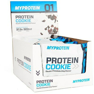 Myprotein: Protein Cookies - Food - Box - Various Flavours - 12 x 75g