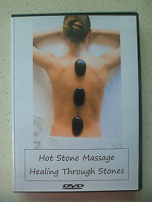 Teach and Learn How To Give Hot Stone Massage Therapy New DVD - Ideal Gift