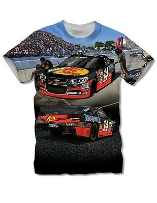 Tony Stewart The Game  14 Bass Pro Shops SCENE Tee FREE SHIP! bc244bd56b62