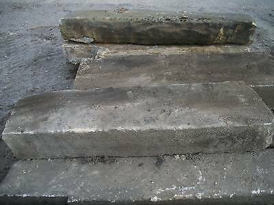 3 - 4 feet long antique stone Step   Step Treads